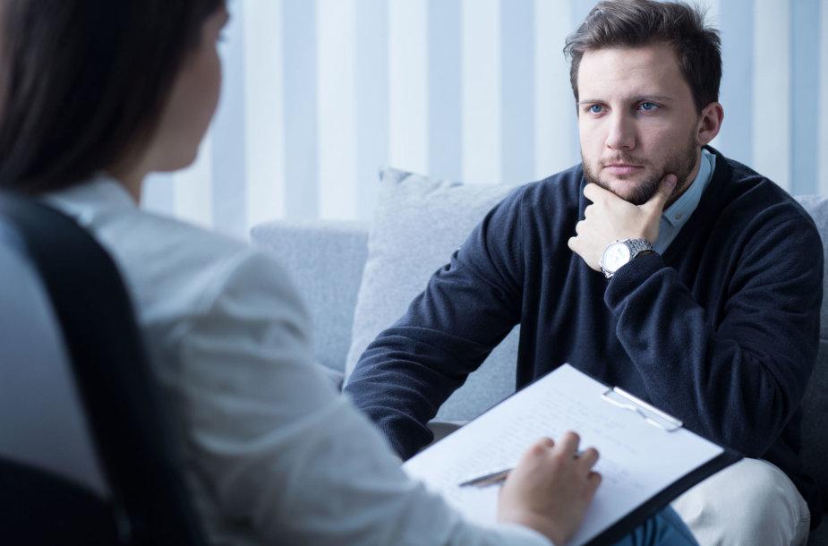Vizitas pas psichologą