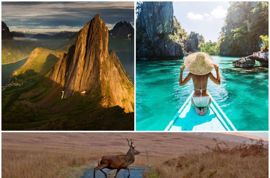 Vienos gražiausių pasaulio salų: Senja, Palavanas, Džura