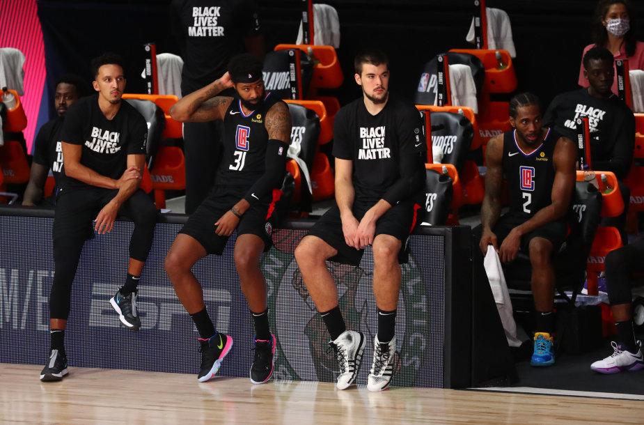 """""""Los Angeles Clippers"""" žaidėjai"""