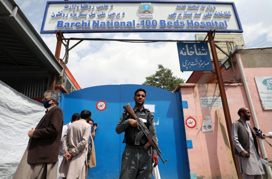 Ligoninė Afganistane, kurioje įvykdytas užpuolimas