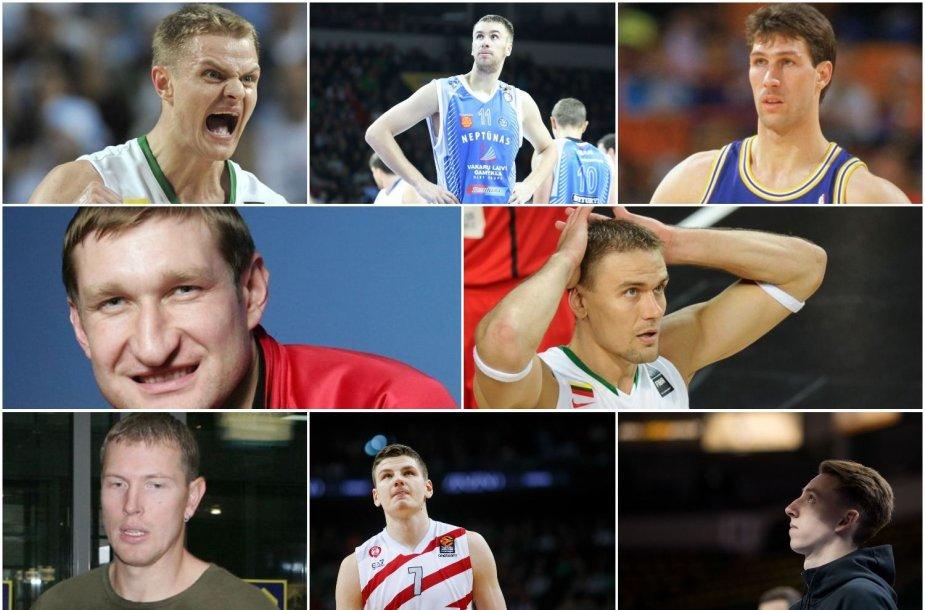 Aštuoni lietuviai iki šiol buvo pašaukti NBA naujokų biržos antrajame rate, o Š.Marčiulionis dar vėliau.