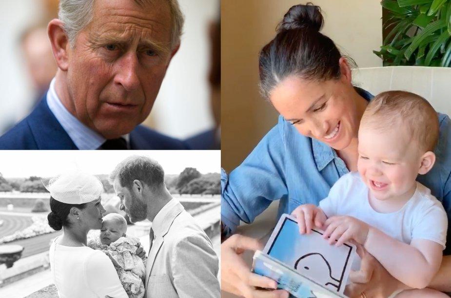 Princas Charlesas, Meghan Markle ir princas Harry