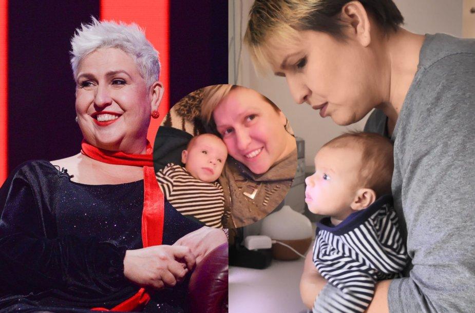 Laima Tamulytė-Stončė su dukra