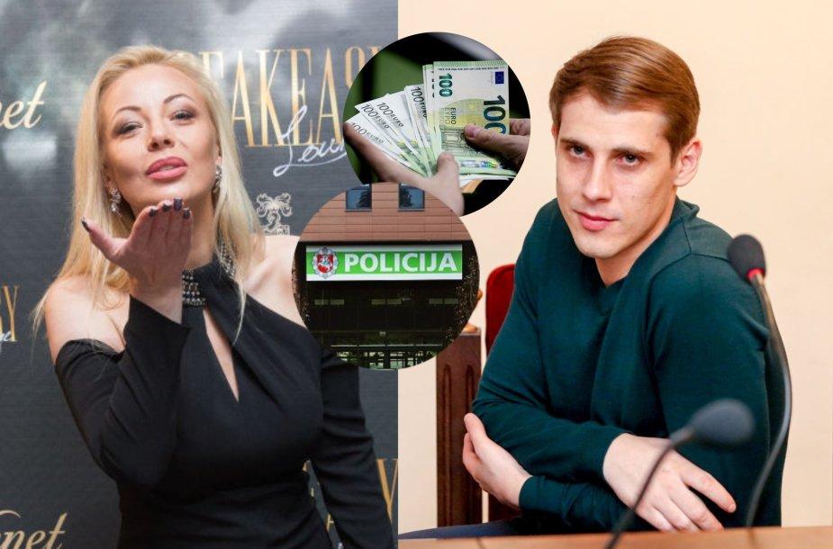 Mia Pilibaitytė, Nerijus Antanavičius, Klaipėdos apskrities vyriausiasis policijos komisariatas