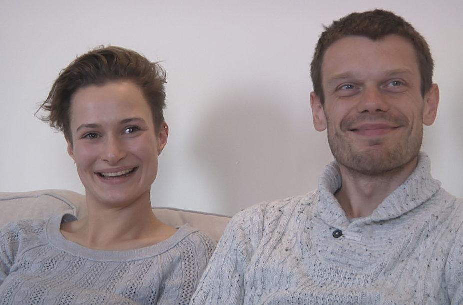 Vaidotas Žala ir Giedrė Bernatavičiūtė