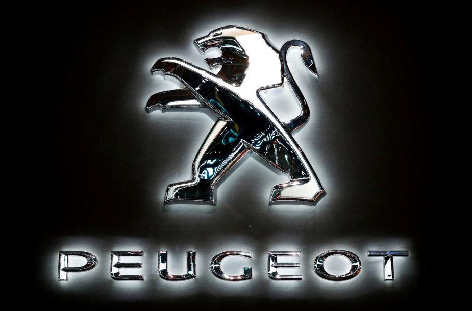 """Peugeot"" logotipas"