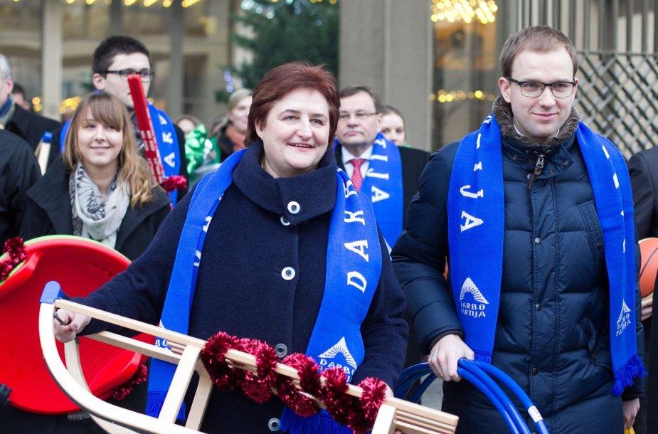 Loreta Graužinienė ir Vytautas Gapšys
