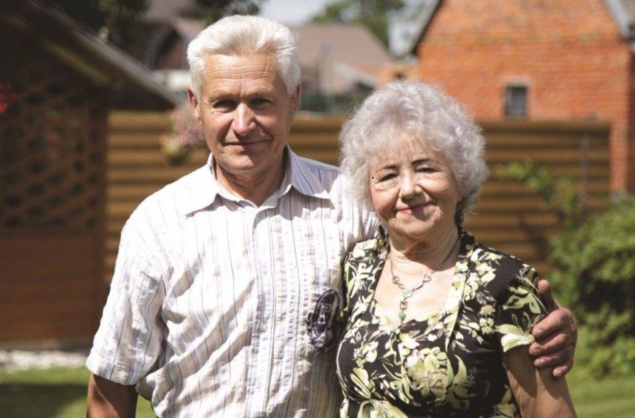 Antanina ir Kęstutis Mugai geriems darbams negaili laiko, jėgų, o dažnai neskaičiuoja ir materialinių išlaidų