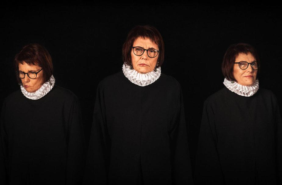 Božena Burokienė Triptikas