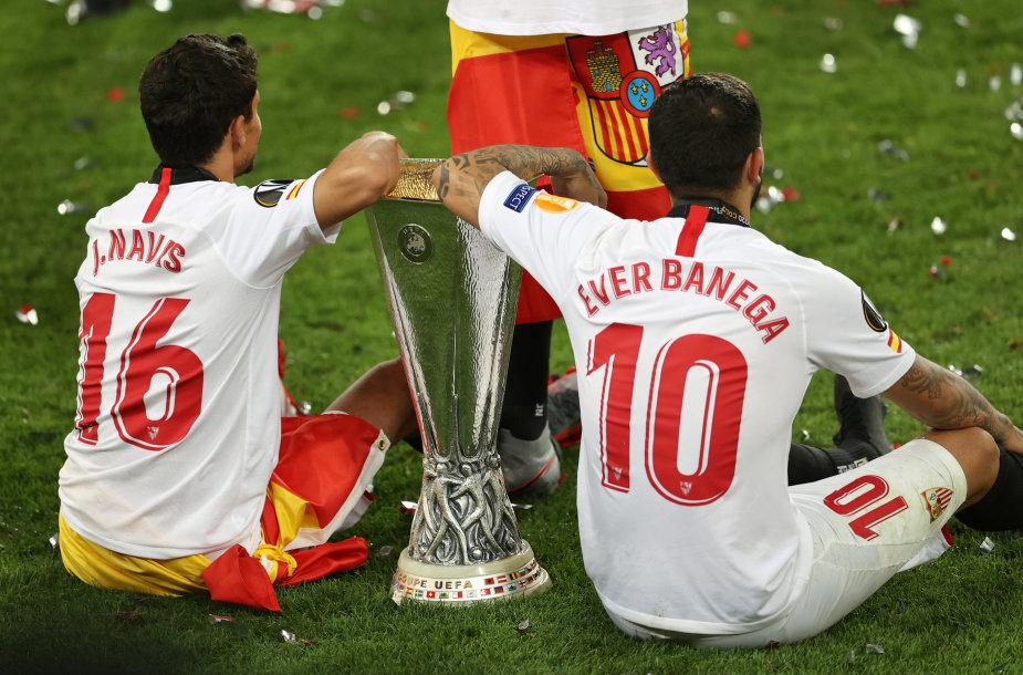 """""""Sevilla"""" triumfavo Europos lygoje"""