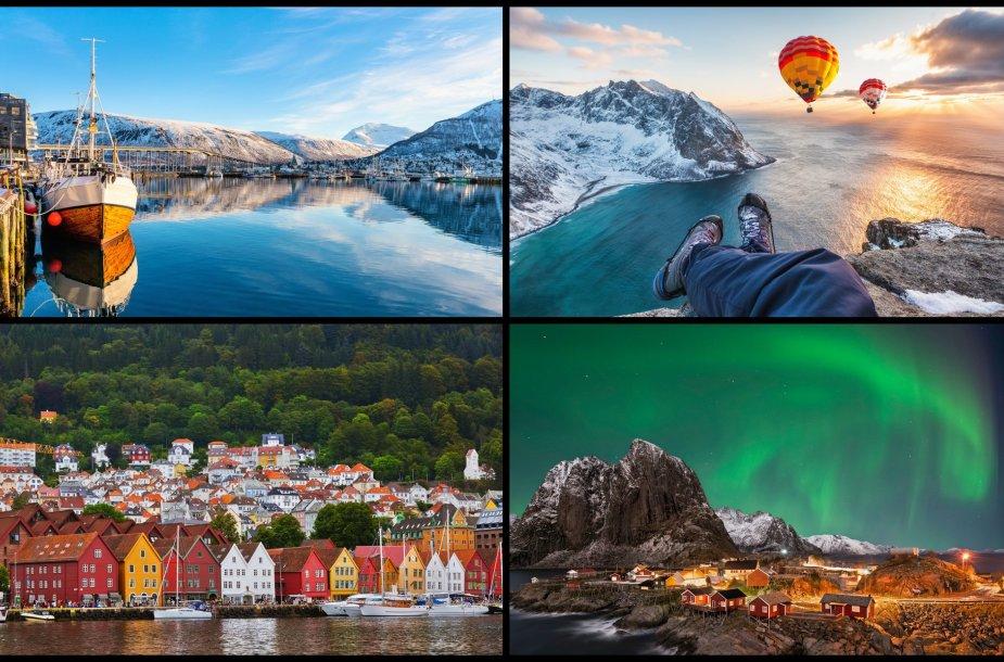 Skandinavijos perlas Norvegija