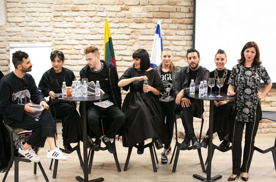 Izraelio dizainerių susitikimas su Lietuvos mados profesionalais ir mėgėjais