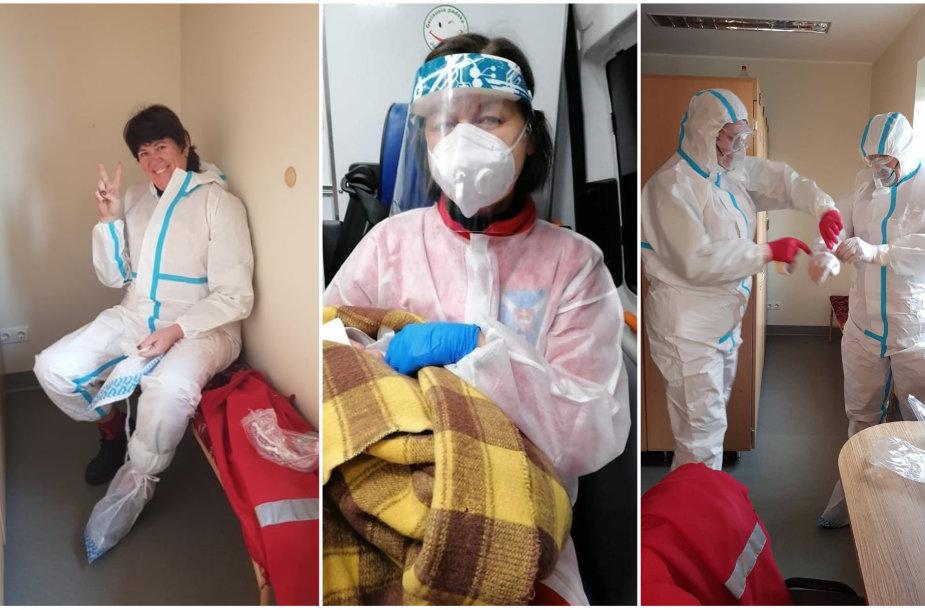 Kauno rajono GMPS medikams sausio 1-ąją gimdyvės namuose teko priimti gimdymą