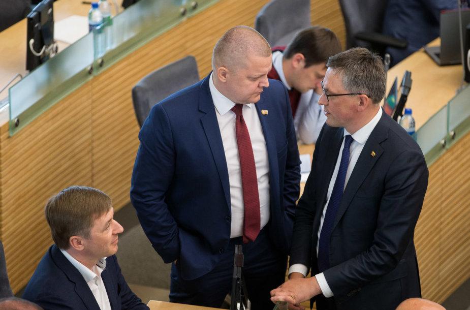 Dainius Gaižauskas ir Vytautas Bakas
