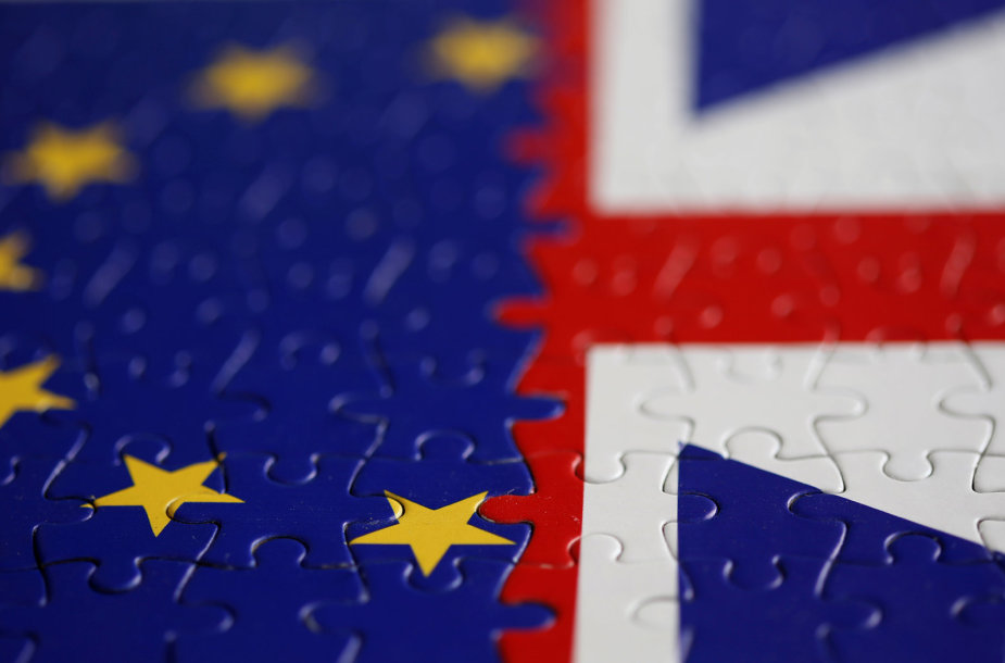 ES ir JK vėliavos