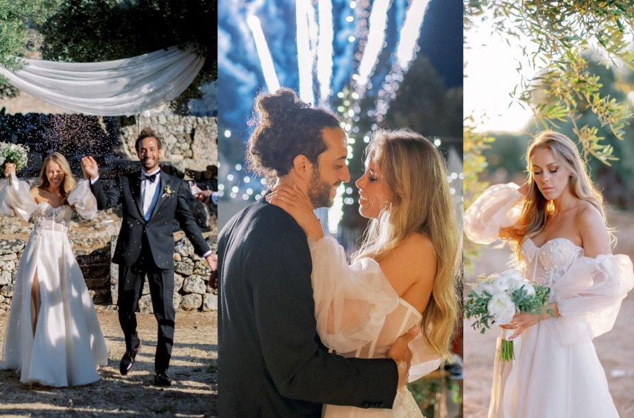 Karolinos Valeikaitės ir Marco Coppola vestuvių akimirka