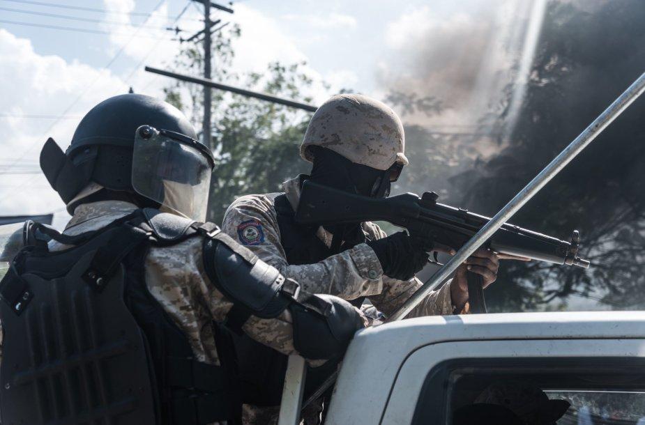 Haičio policija