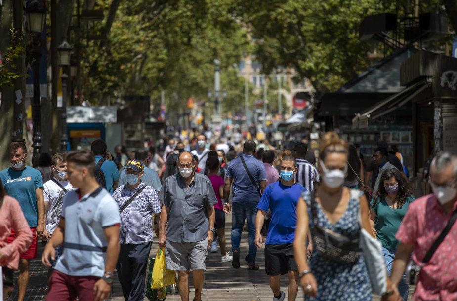 Karantinas Barselonoje