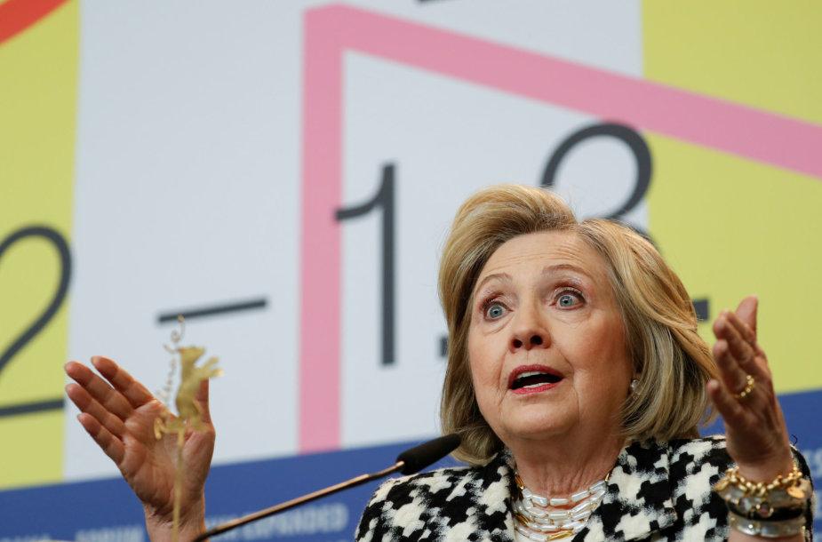 Hillary Clinton Berlyno kino festivalyje