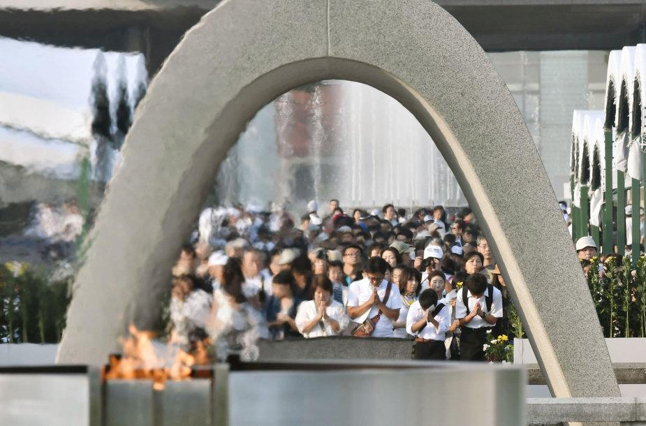 Hirošimos atominio bombardavimo minėjimas