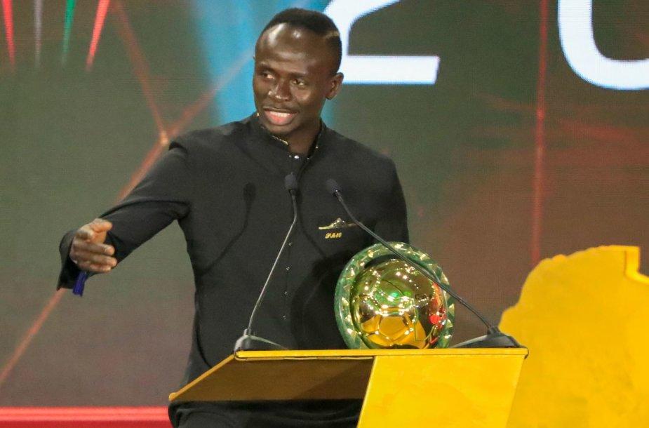 Sadio Mane išrinktas Afrikos metų futbolininku