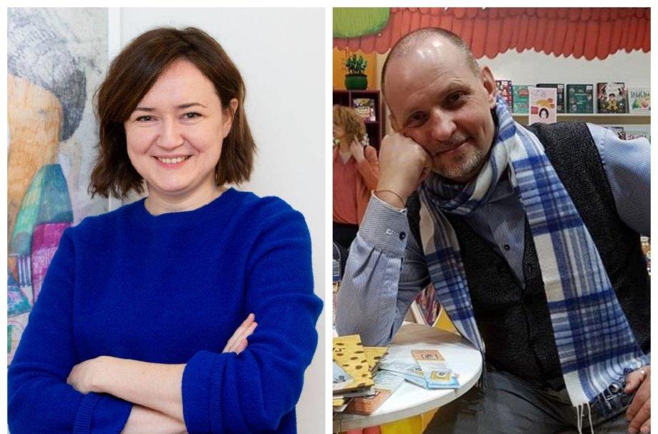 Rasa Jančiauskaitė ir Marius Marcinkevičius