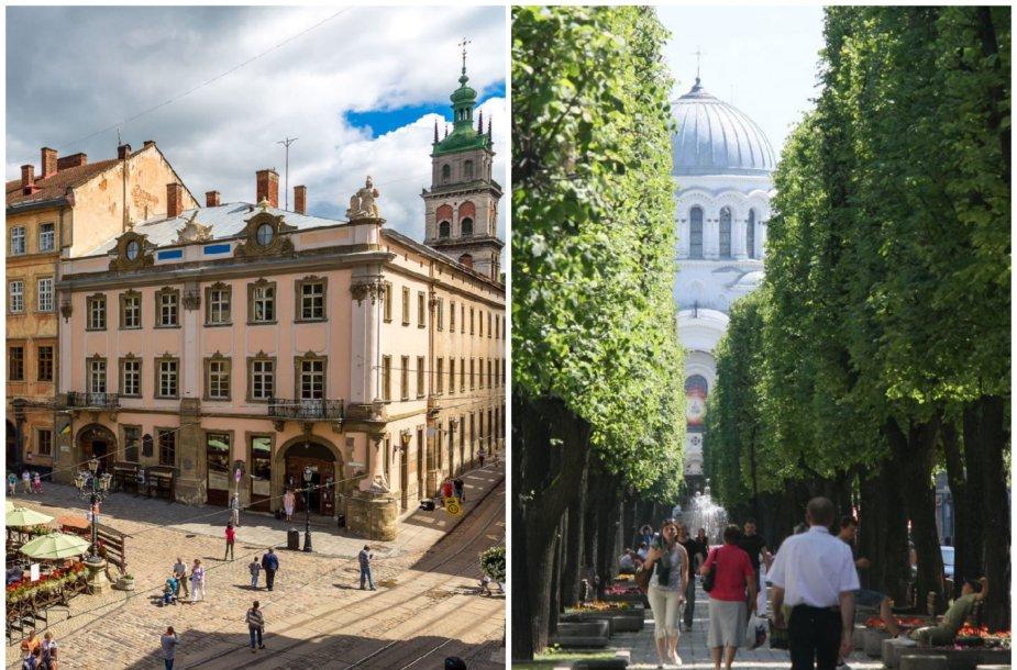 Lvovas ir Kaunas – tarp sparčiausiai populiarėjančių krypčių
