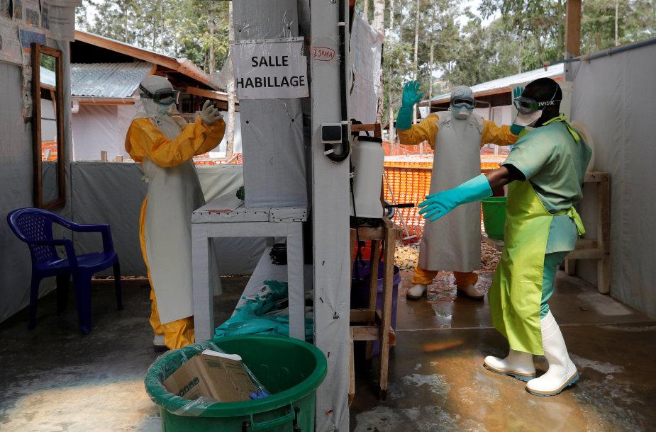 Ebolos protrūkis Kongo DR