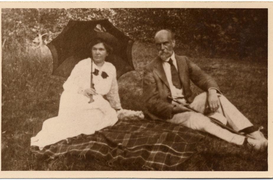 Janis Rainis ir Aspazija, 1918 m.