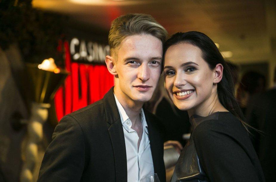"""""""ŠaŠa"""" stilistų duetas: Joringis Šatas ir Viktorija Šaulytė"""