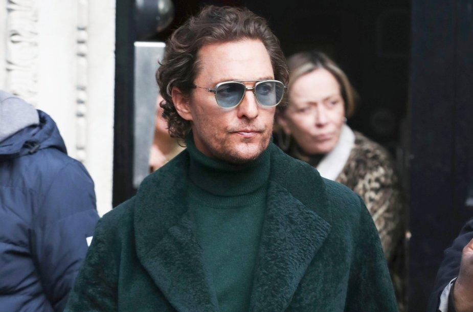 Aktorius Matthew McConaughey