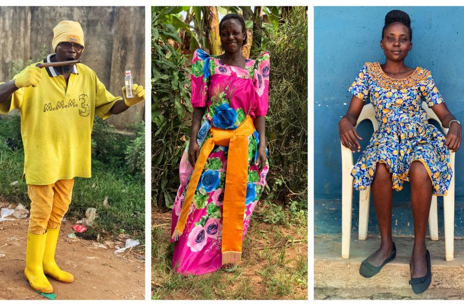 Agnės Kulitaitės kadrai iš Ugandos