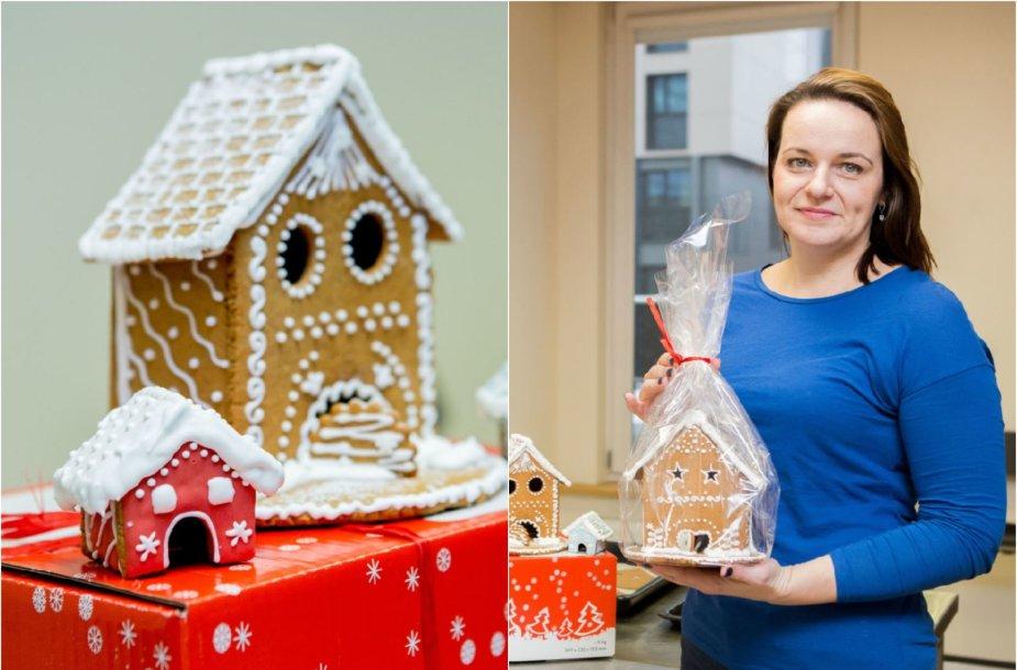 Neringa Glebovė ir jos kurti meduoliniai nameliai