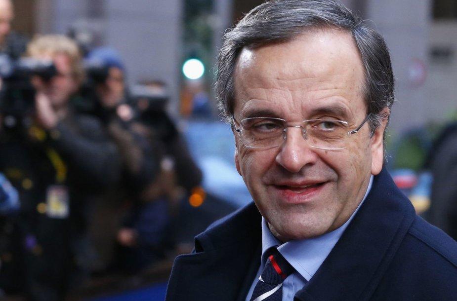Graikijos ministras pirmininkas Antonis Samaras