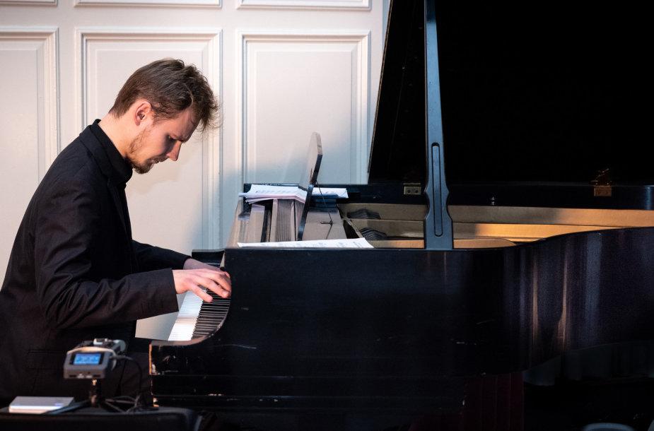 Pianistas Paulius Pancekauskas