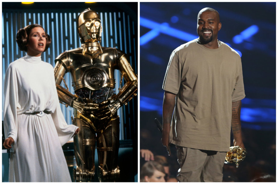 """Kanye Westas atkurs legendinius """"Žvaigždžių karų"""" džedajų namus"""