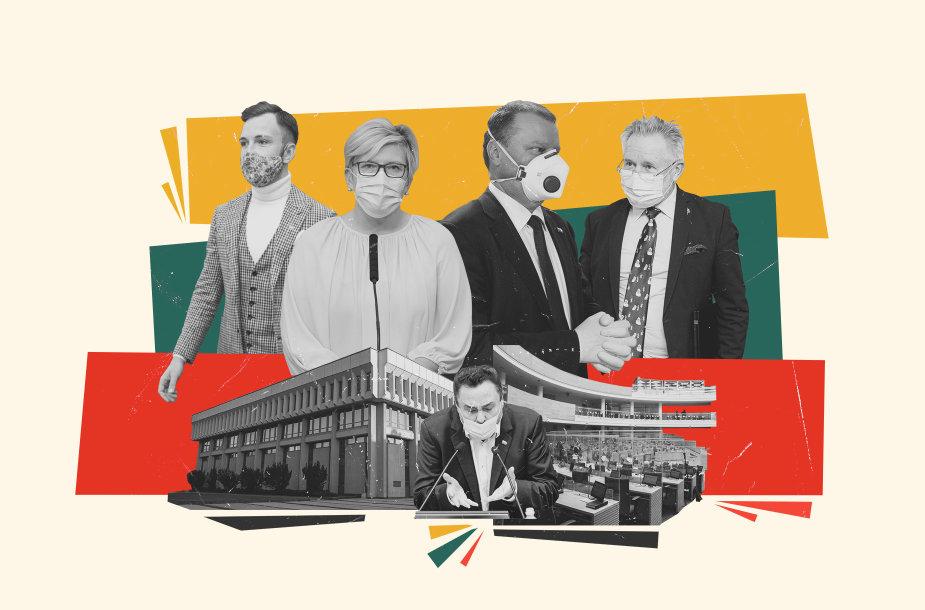 Šimtas Seimo dienų politikų akimis