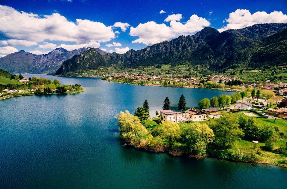 Idro ežeras Italijoje