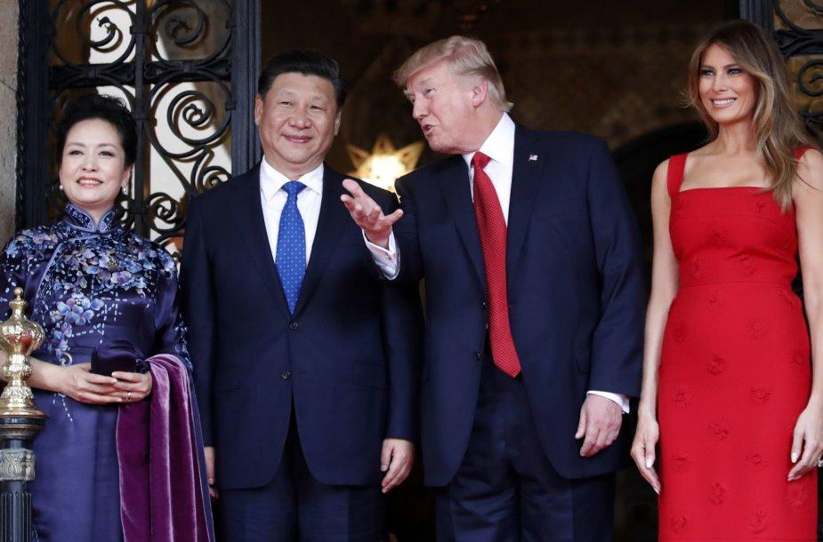 Donaldo Trumpo ir Xi Jinpingo susitikimas