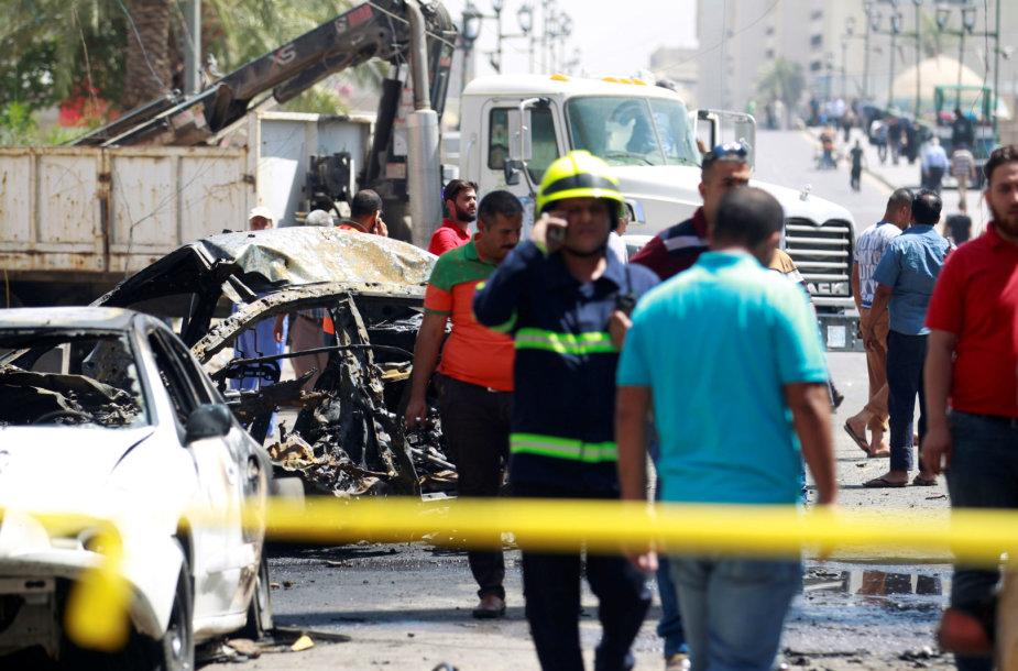 Irake per išpuolį žuvo keturi žmonės
