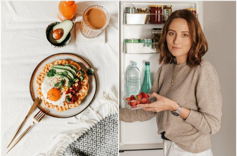 Gabrielė siūlo idėjas pusryčiams