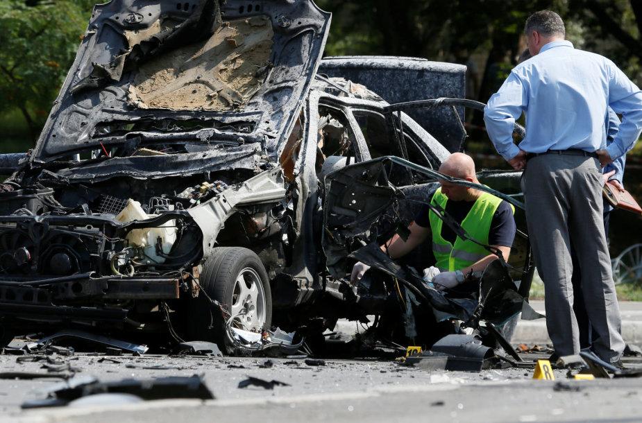 Kijeve automobilio sprogimas pražudė aukšto rango žvalgybos pareigūną