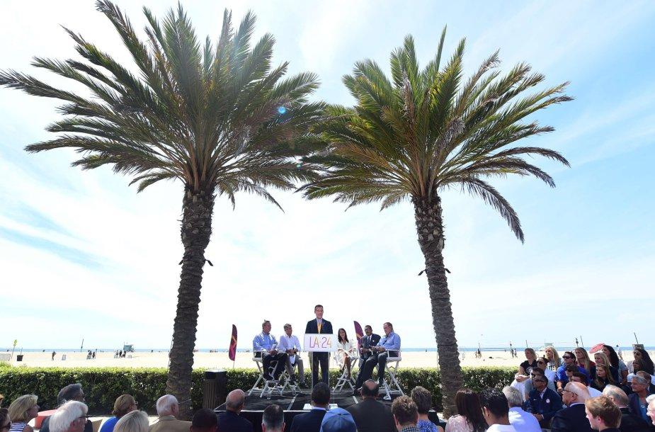 Los Andželas nori surengti olimpines žaidynes