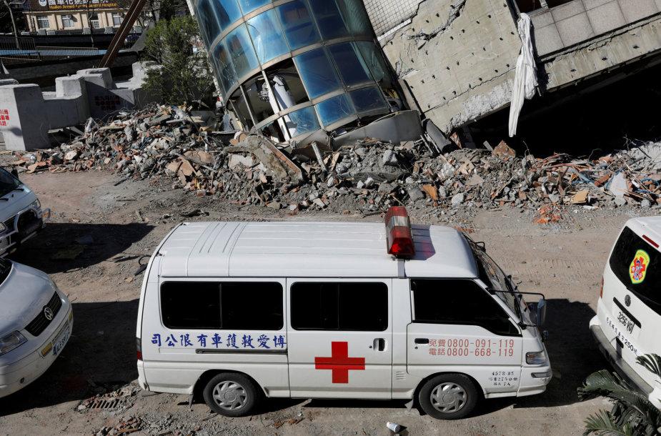 Žemės drebėjimas Taivane