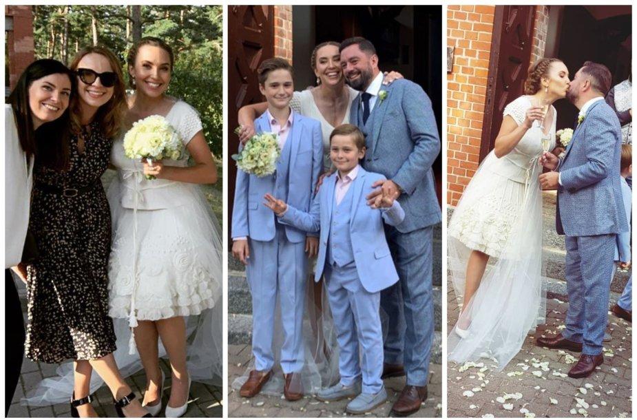 Liudviko Andriulio ir Medeinos Čijauskaitės vestuvės
