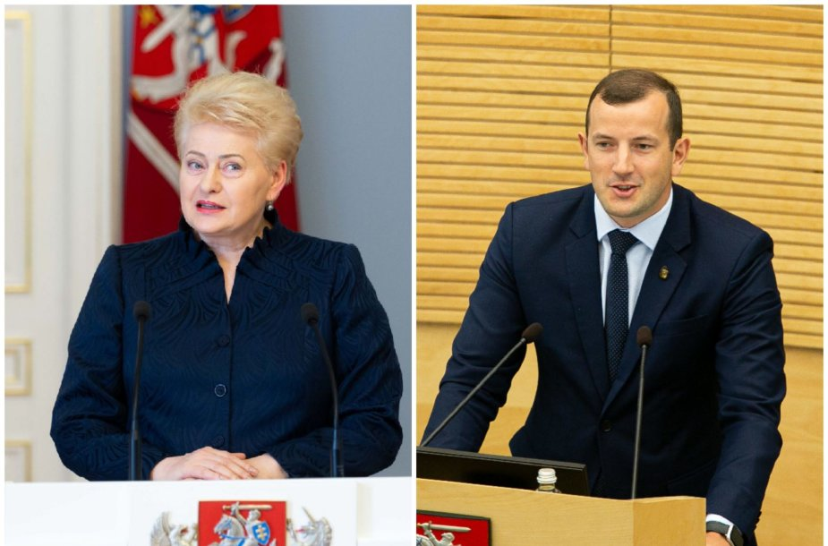 Dalia Grybauskaitė ir Virginijus Sinkevičius