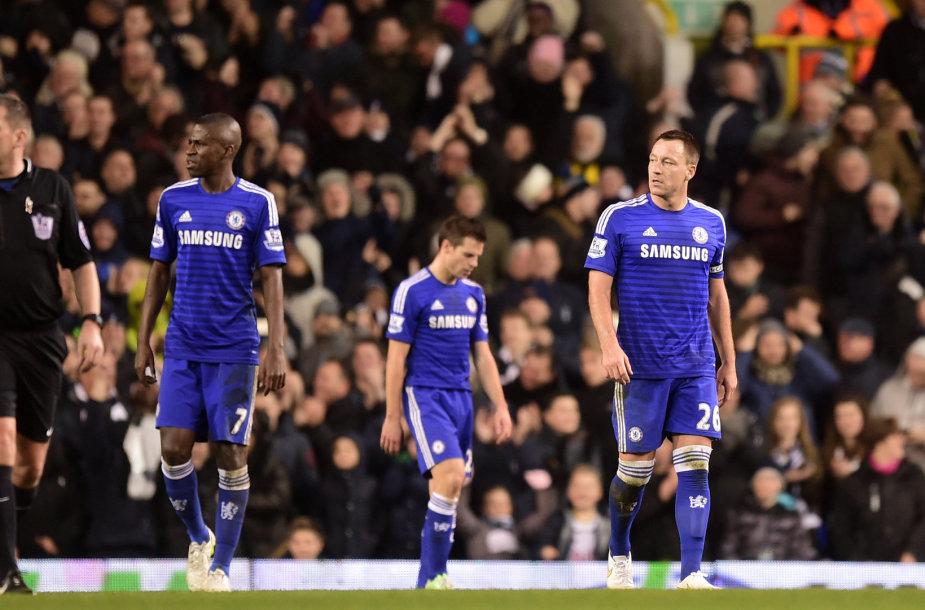 """Chelsea"" pralaimėjo"