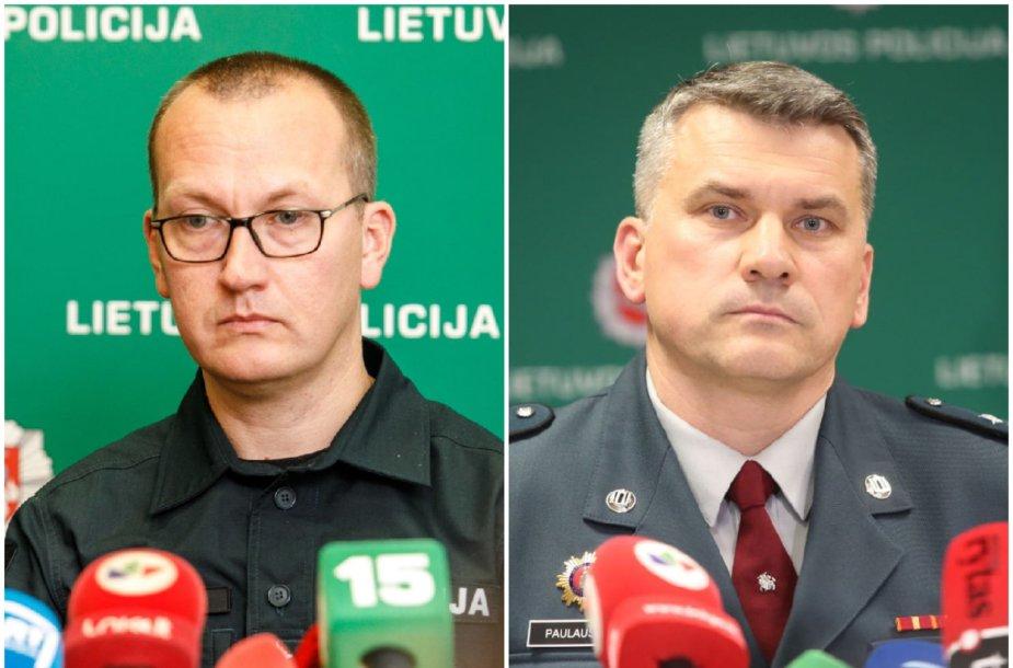 Edvardas Šileris (kairėje), Arūnas Paulauskas