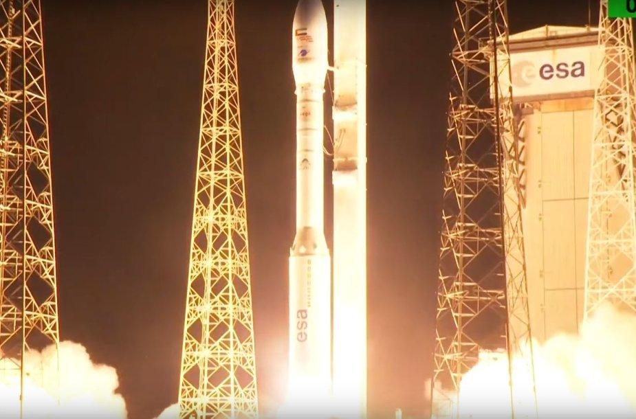 "Raketos ""Vega"" startas"