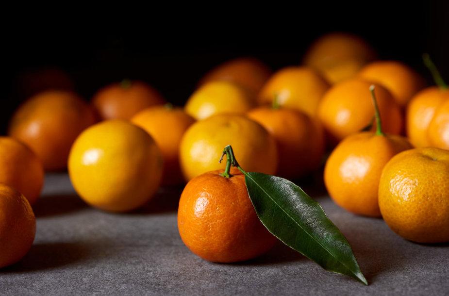 Klementinai ir mandarinai